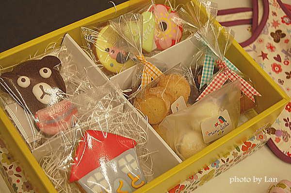 名入れクッキーセット(mini labo)